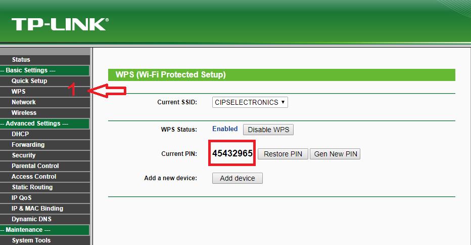 Como utilizar la función del botón WPS en equipos Tp-link