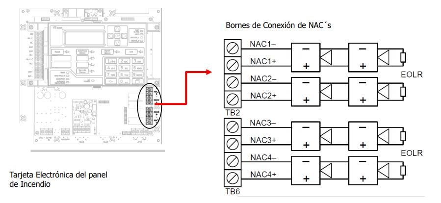 u00bfc u00f3mo cablear el circuito de dispositivos de notificaci u00f3n